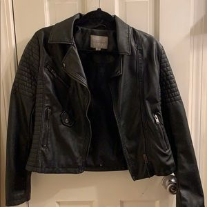 Slim Fit Biker Jacket - Size Small